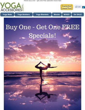 [Ending Today] Your Best Buy One - Get One Free Specials