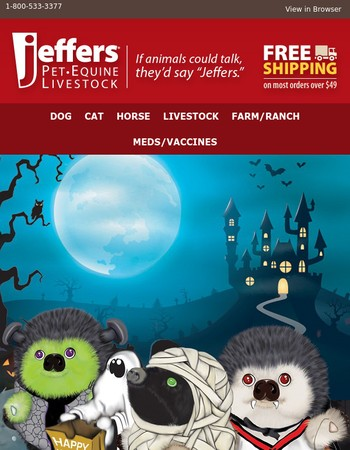 Costumes, Toys, Treats and Heggies for a Ghoulishly Good Time!