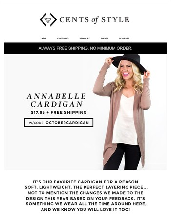 Our Best-Selling, Favorite Cardigan is Back & On Sale!