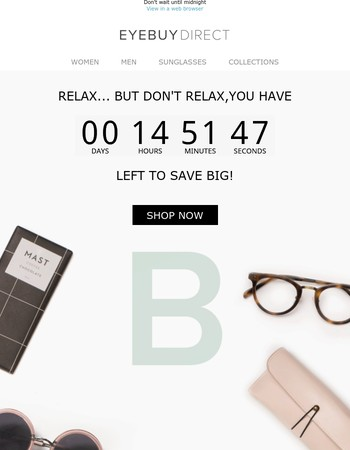 Time is ticking... BOGO ends soon