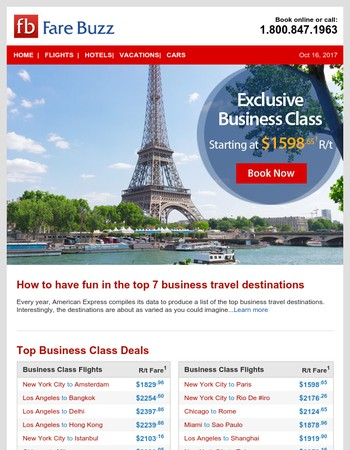 How to have fun in the top 7 business travel destinations
