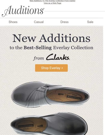 Clarks Everlay Collection!