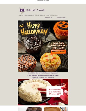 Halloween Treats Have Arrived - Save 20%