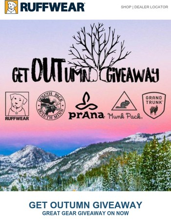 Get OUTumn Giveaway