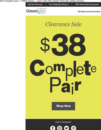 CLEARANCE! New Week, New Styles...