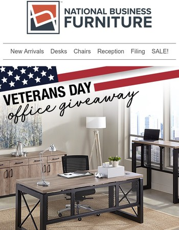 Reminder: Our Veterans Day Contest ends soon! Enter now >>