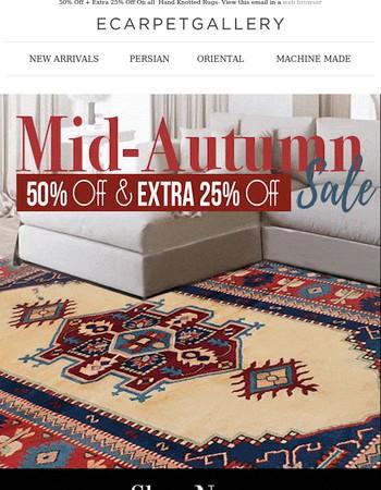 Mid-Autumn Madness Sale!!