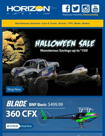 Don't let these scary good savings spook you!