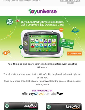 LeapFrog Ultimate Special Offer - Exclusive to Toy Universe