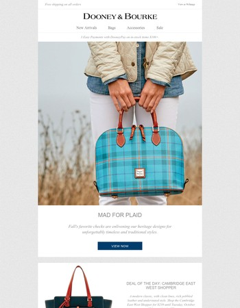 Mad for Plaid | Deal of the Day