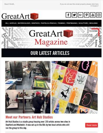 GreatArt Magazine October 2017