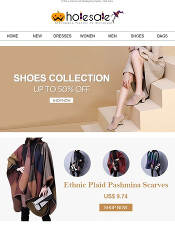 Shoes Collection 50% Off & Find What You Want.