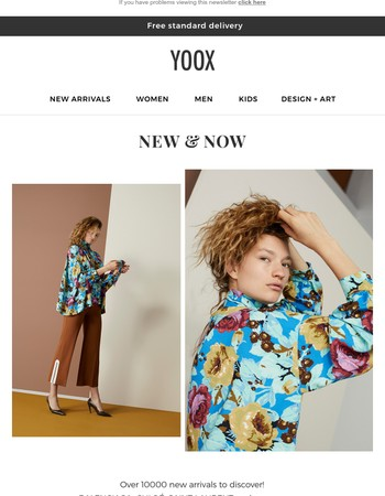 New & Now: discover over 10000 new arrivals