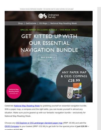 National Map Reading Week - get your exclusive navigation bundle!