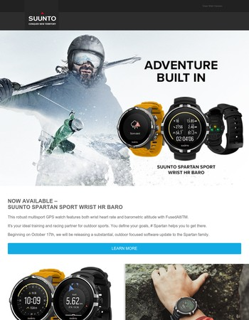 Are you ready for new outdoor adventures?