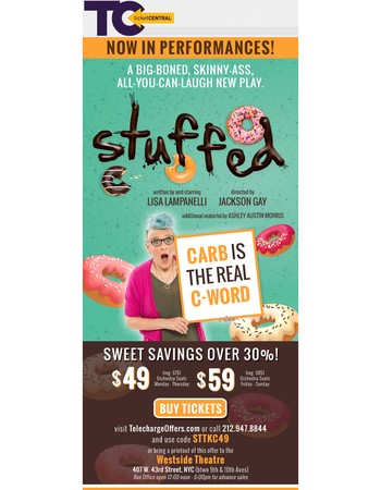 $49 for An All-You-Can-Laugh Special at STUFFED!