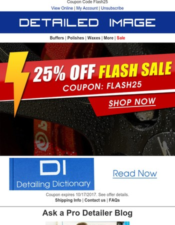 25% Off Flash Sale! 24 Hours Only!