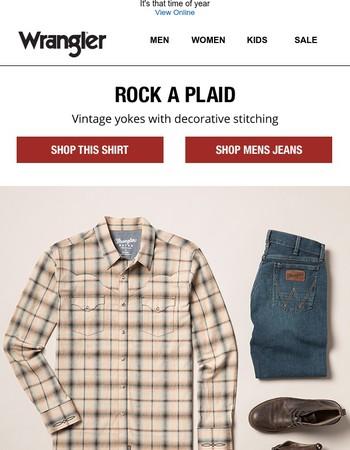 Rock a plaid