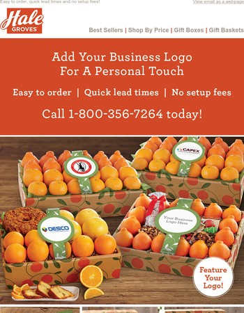Introducing LOGO Business Gifts!