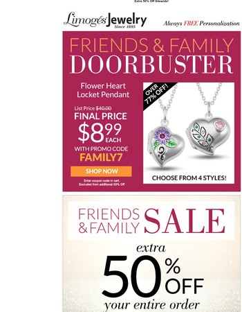 We � These Heart Lockets - So Will You!