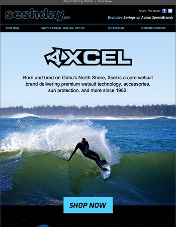 Xcel: For Surfers Seeking Only the Best