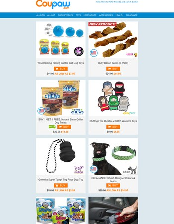 Babble Ball   Bully Bacon Twists   Handheld Vacuum   And More
