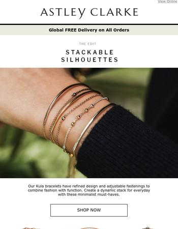 Stackable Silhouettes: Kula Bracelets
