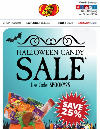 Halloween Candy SALE Starts Today!