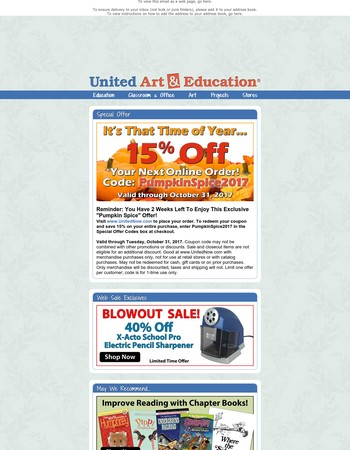 Pencil Sharpener Blowout - 40% Off! Plus, Exclusive Offer For Your Next Web Order!