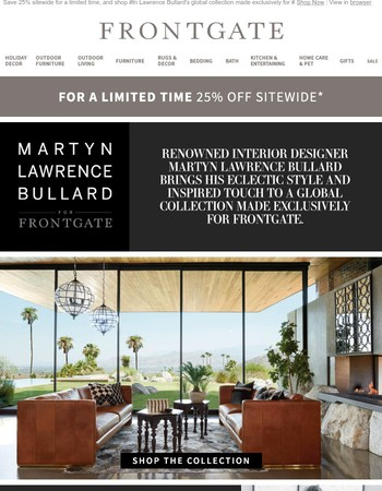 Explore the Martyn Lawrence Bullard Collection