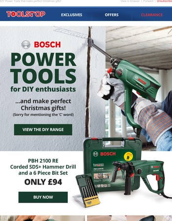 Bosch Power Tools for the DIY Enthusiasts