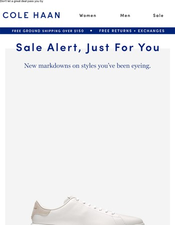 Great News! New Markdowns on Styles You Viewed