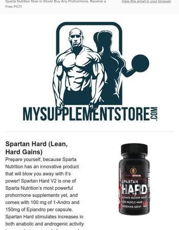 NEW: Sparta Nutrition Prohormones + Free PCT!