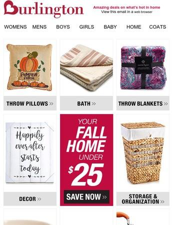 Burlington Coat Factory Newsletter