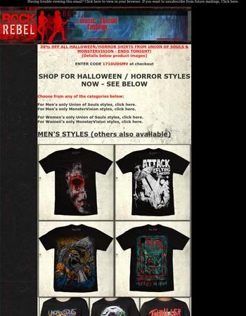 Rock Rebel Newsletter
