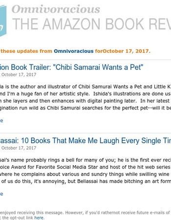 Amazon Blogs: Omnivoracious Daily Digest