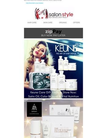 Keune & Alpha-H Value Packs Now In Stock