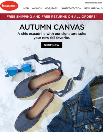 Your New Fall Favorites