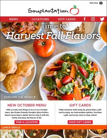 Garden Fresh Restaurant Corp Offers From Newsletters