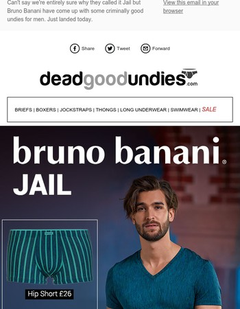 Go directly to.... NEW Bruno Banani Jail