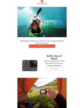 GoPro HERO Black 6 Now Available