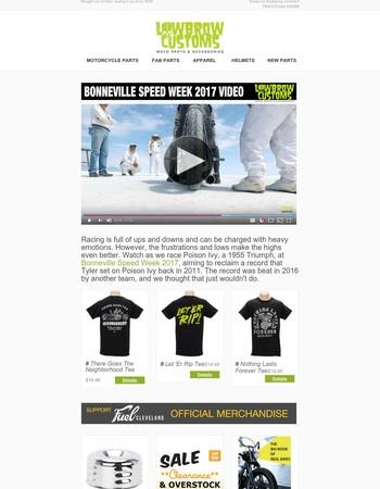Lowbrow Customs Newsletter