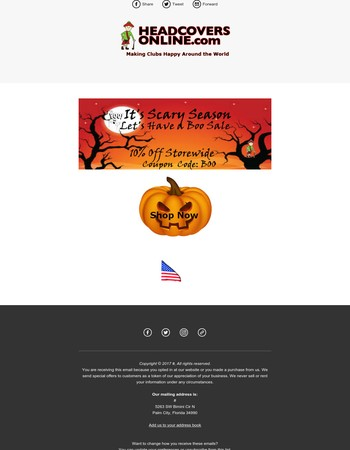 The Scary Season Is Here | Say Boo and Save