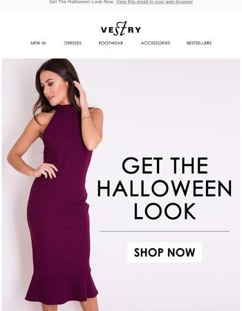 Get The Halloween Look Now