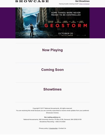 Who's in Control? Discover the truth. Geostorm Opens this Weekend!