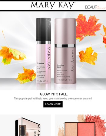 Now you can take your summer glow into fall…