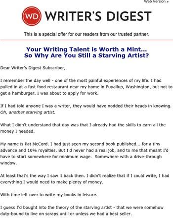 You Can Actually Make a Living as a Writer