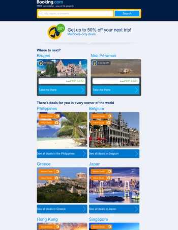 Booking.com Newsletter