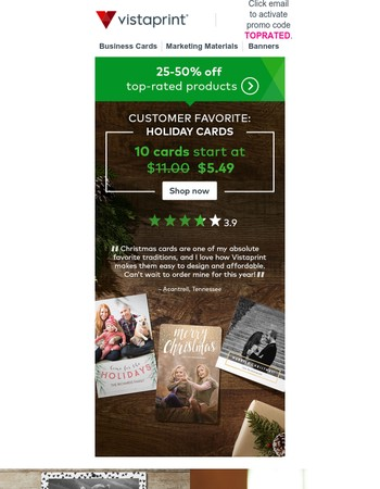 Save on Customer Favorites | holiday cards, custom gifts & more.