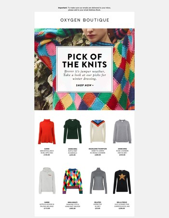 Pick of the Knits
